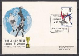 Football / Soccer / Fussball - WM 1966:  UK  SoKarte, Used - Coupe Du Monde