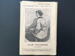 Lot De 12 CPA Fin XIXEME Nos Paysans Par Baric Extrait Du Journal Amusant Boisselier éditeur à Tours - Illustrateurs & Photographes