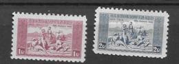 1934 MNH Czechoslovakia Michel 330-31w - Neufs