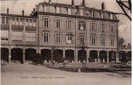 NANCY - Hôpital Central - Cour D'Honneur - Nancy