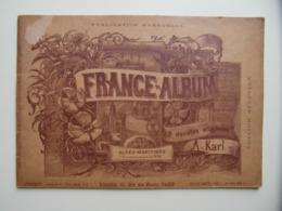 """FRANCE-ALBUM """" ALPES MARITIMES / NICE """" Avec NOMBREUSES GRAVURES PUBLICITÉS - Livres, BD, Revues"""