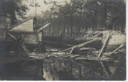 59 ( Nord ) - CARTE PHOTO LILLE BRIDGE Avec Tampon Au Verso Passed By Censor  1918 - Lille