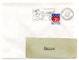 VAL De MARNE - Dépt N° 94 VILLEJUIF 1966 = FLAMME Codée = SECAP  ' N° De CODE POSTAL / PENSEZ-Y ' - Postleitzahl