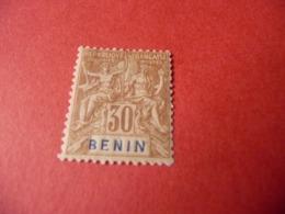TIMBRE   BÉNIN       N  41      COTE  13,00  EUROS   NEUF  TRACE  CHARNIÈRE - Benin (1892-1894)