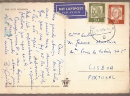 Germany & Marcofilia, Das Alte Munchen,  Lisboa 1965 (734) - Storia Postale