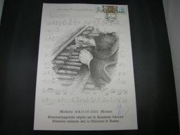 BELG.2003 3170/3171 (BELGIAN VERSION)Prévente Spéciale Illustration G. Broux - Cloches De Malines/ St Petersbourg- Signé - FDC