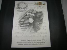 BELG.2003 3170/3171 (RUSSIAN VERSION)Prévente Spéciale Illustration G. Broux - Cloches De Malines/ St Petersbourg- Signé - FDC