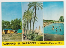 AB457 - BARCELONA - SITGES - Camping El Garrofer - Playa De Oro - Multivues - Barcelona