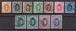 Egypt - 1923-24 - ( Definitives - King Fouad ) - Complete Set - As Scan - Oblitérés