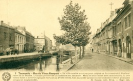 Dendermonde - Termonde - Rue Du Vieux Rempart - Vestje Met Boot - Dendermonde
