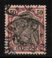 GERMANY  Scott # 60 VF USED (Stamp Scan # 546) - Germany