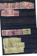 1920 Pour Exprés Y 9-10 +14-15 -16:  50 Pieces - Newspaper Stamps