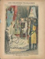 Couverture Cahier Les Colonies Françaises N°11 Mort De Saint Louis à Tunis G. DASCHER Collection L. GEISLER - Book Covers