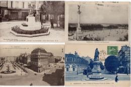 4 CPA - BORDEAUX (3) CPA - Allées De Tourny -  Cours De Verdun - Qinconces - SAINT ANDRE DE CUBZAC - Café   (117450) - Bordeaux