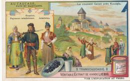 Armenie  Couvent Gelati Pres Koutais . Gourien . Armenien. Paysanne Armenienne . Pub Liebig - Armenië