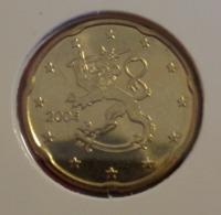===== 20 Cent Finlande 2004 Sorti Du BU (8 Pièces) Mais Légèrement Oxydé ===== - Finland