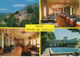 Hotel Meson Del Castillo  Berga (Barcelona)  Cpsm Format 10-15 - Barcelona