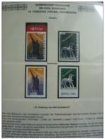 Emissioni Congiunte BELGIO 2004, Sculptures 2v, Joint Issue Rumenia  2 Serie Cpl. 4v. Nuovi** - Gemeinschaftsausgaben