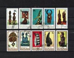 BURUNDI , 1967 , Oo , Used , Gestempelt , Mi.Nr. 335 A - 344 A - Burundi