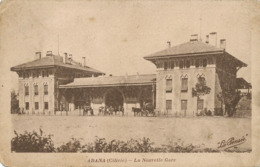 Adana Cilicie La Nouvelle Gare  Edit Fapadopoulos  Mersine Adana . Station . Coins Arrondis . Rounded Corners - Armenië
