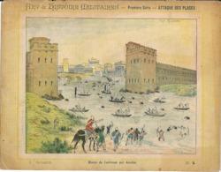 Couverture Cahier Art Histoire Militaire Attaque Des Places  N°4 Blocus Casilinum Hannibal Collection Geisler - Book Covers