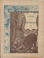 Couverture Cahier Fable L'Ours Et Les Deux Compagnons C CHARIER Editeur à Saumur - Book Covers