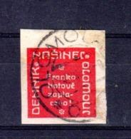 Journaux Provisoire Nasinec Olomouc NN18 - Timbres Pour Journaux