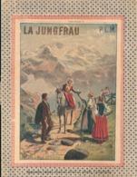 Couverture Cahier La Jungfrau PLM Voyages Illustrés N° 15 Imprimeries Lamy Paris - Book Covers
