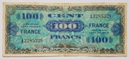 BILLET FRANCE - P.118a - 100 FRANCS - SERIE DE 1944 - BILLET MILITAIRE ALLLIE SECONDE GUERRE MONDIALE - Schatzamt