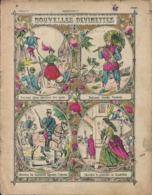 Couverture Cahier Nouvelles Devinettes Robinson Vendredi Cendrillon Clairefontaine Etival - Book Covers