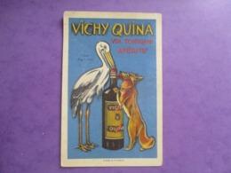 CPA PUBLICITE VICHY QUINA VIN TONIQUE APERITIF - Pubblicitari