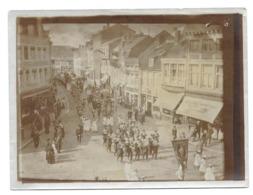 Liège 1912 (rue Basse-Wez )  Procession Saint Remacle Photo 9x12 - Places