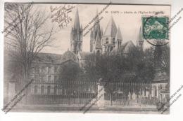 CPA CAEN (14) - Abside De L'Eglise St-Etienne - Caen