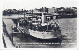 Port Autonome De BORDEAUX - Le Bac De Royan A La Pointe De GRAVE  - Fonçillon (117451) - Bordeaux