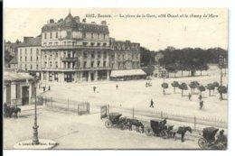 RENNES (vers 1910) Place De La Gare - Lamiré éditeur - Rennes