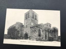 CHAMPDIEU Eglise Et Prieuré, XIIe Et XIIIe Siecle - Other Municipalities