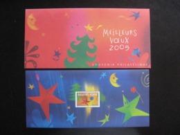 TB B.F.souvenir N°3: Meilleurs Voeux 2005, Avec Encart, Neuf XX. - Bloques Souvenir