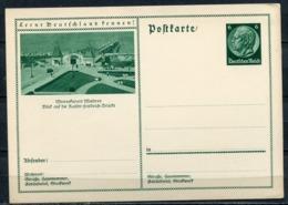 """German Empires 1933 GS Hindenburg,grün Mi.Nr.P221/055""""Lernt Deutschland Kennen!-Misdroy,Landungsbrücke""""1 GS - Ganzsachen"""