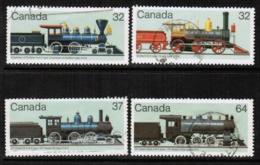 CANADA  Scott # 1036-9 VF USED (Stamp Scan # 546) - 1952-.... Reign Of Elizabeth II