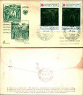 13963a)F.D.C.  Battistero Del Duomo Di Siena - 2ª Serie - 25 Giugno 1980 - Malte (Ordre De)