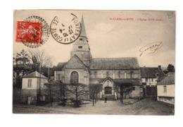 Sur CPA St Clair Sur Epte CAD St Clair Seine Et Oise 1909. CAD Destination Fontenay Le Comte. (3331) - 1877-1920: Periodo Semi Moderno