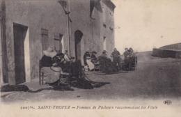 83 / SAINT TROPEZ / FEMMES DE PECHEURS RACCOMODANT LES FILETS / ELD 1007BIS - Saint-Tropez