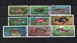 BURUNDI , 1967 , Oo , Used , Gestempelt , Mi.Nr. 359 - 367 - 1962-69: Usati