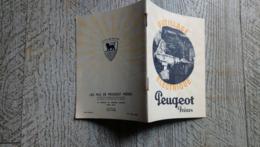 Petit Catalogue Peugeot Outillage électrique - Reclame