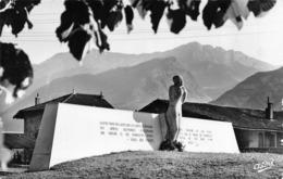 CPSM 38 VOREPPE MONUMENT DES FUSILLES - Voreppe