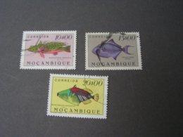 Mosambik Lot Fische 404-408 Michel Ca. EIR 60,00 - Portugees-Afrika