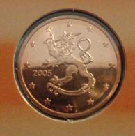 ===== 5 Cent Finlande 2005 état BU ===== - Finland
