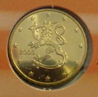 ===== 10 Cent Finlande 2005 Sorti Du BU (8 Pièces) Mais Légèrement Oxydé ===== - Finland