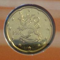 ===== 20 Cent Finlande 2005 Sorti Du BU (8 Pièces) Mais Légèrement Oxydé ===== - Finland
