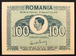 ROMANIA 1945 100 LEI Pick#78 Q.fds About UncLOTTO 2944 - Rumänien